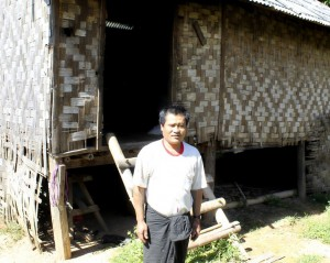 Ei Ei's father and home 2