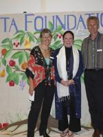 Priscilla Clapp, Mike and Tricia Karpfen