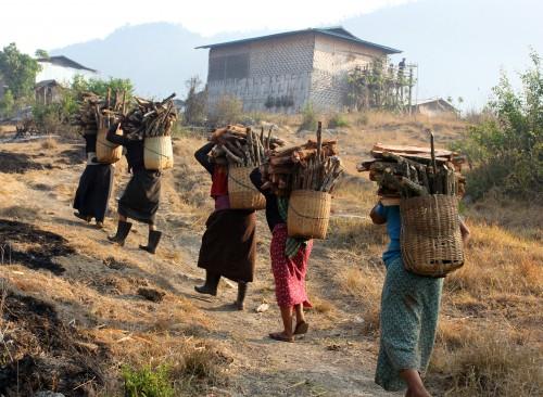 Myanmar3_Carrying Firewood