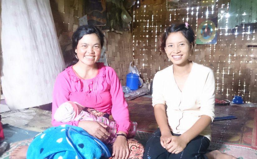 Nang Pe and Village Nurse Midwife